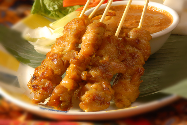 Satay - (Spicy Barbecued Meat)