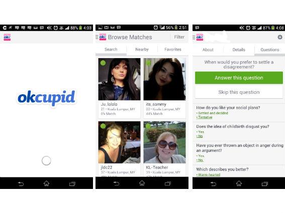 online dating apps in malaysia The popular dating app tinder on after tinder's new premium charges: other dating apps available both in malaysia and singapore, the app lets people.