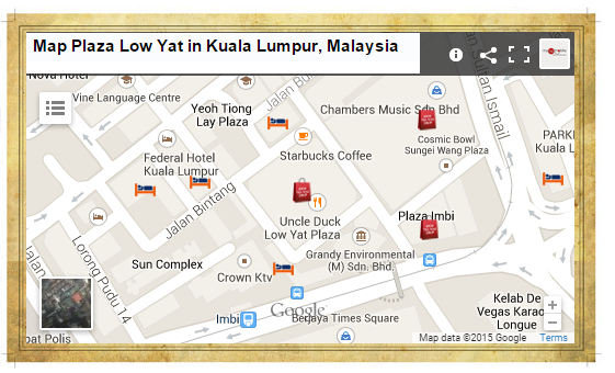Plaza Map